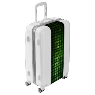 Software Solution with Blurred Code Abstract Backg Luggage