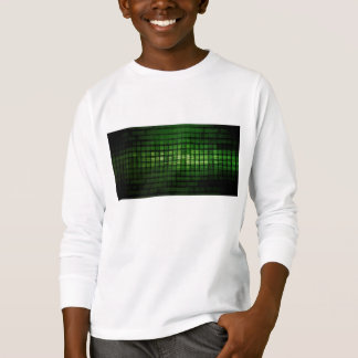 Software Solution with Blurred Code Abstract Backg T-Shirt