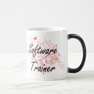 Software Trainer Artistic Job Design with Butterfl Magic Mug