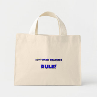 Software Trainers Rule Tote Bags