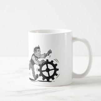 Software y soporte físico tazas de café