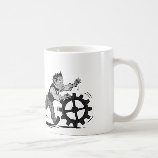 Software y soporte físico taza de café
