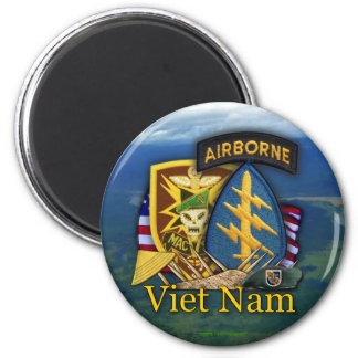 sog Vietnam Magne del macv de las boinas verdes de Imán Para Frigorífico