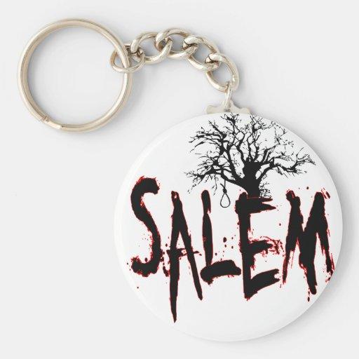 Soga de ensayo del árbol de la bruja de Salem Llaveros