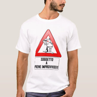 SOGGETTO A PIENE IMPROVVISE T-Shirt