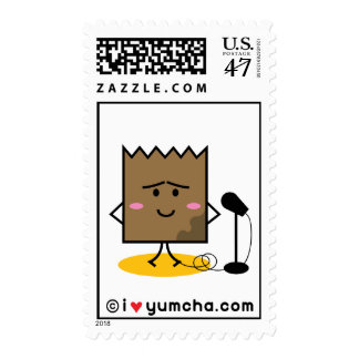 Soggy Lunch Bag Postage Stamp