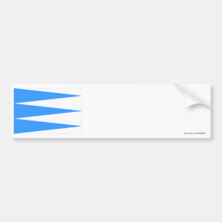 Sogn og Fjordane flag Bumper Sticker