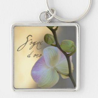 Sogni D'oro (sweet dreams) Orchid Keychain