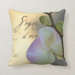 Sogni D'oro (sweet dreams) Orchid Throw Pillows