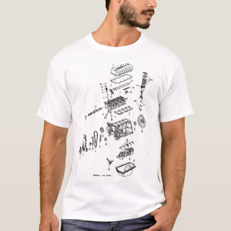 SOHC exploded T-Shirt