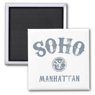 SoHo 2 Inch Square Magnet