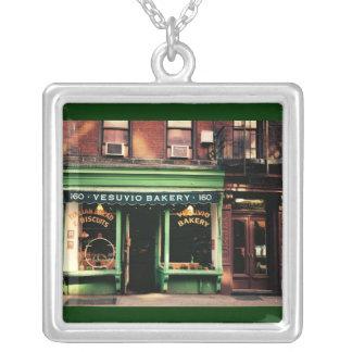 Soho Bakery Square Pendant Necklace