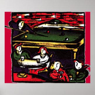 Soho Billiards Posters