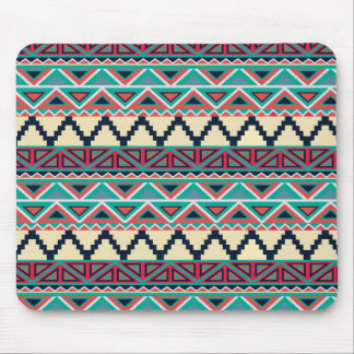 Soho Boho Geometric Modern Tribal Stripe Mouse Pad