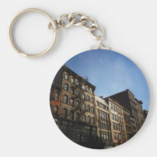 Soho Buildings In The Sun, New York City Keychains