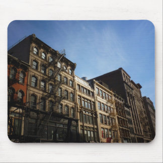 Soho Buildings In The Sun, New York City Mouse Pad
