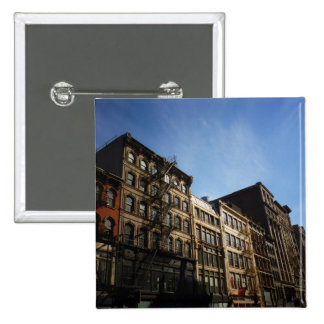 Soho Buildings In The Sun, New York City Pin