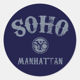 SoHo Classic Round Sticker