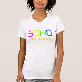 SoHo colorea New York City Camiseta