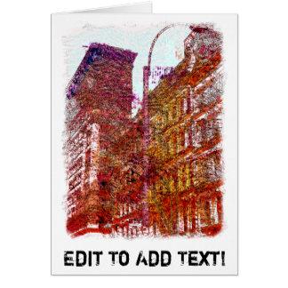 Soho, New York City Card