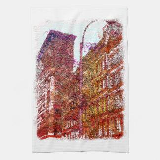 Soho, New York City Hand Towel