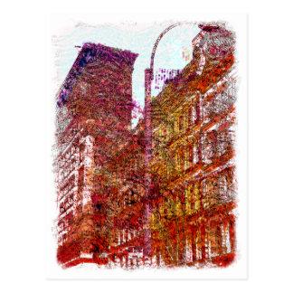 Soho, New York City Postcard