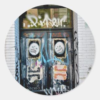 SOHO NYC de la pintada Etiquetas