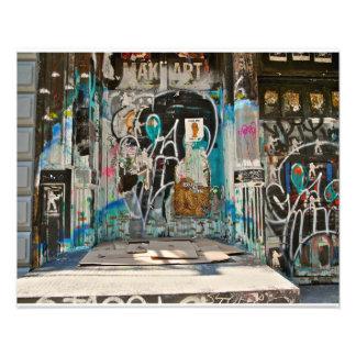 SOHO NYC de la pintada Fotografías