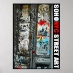 SoHo NYC Street Art Posters