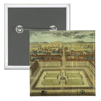 Soho or King's Square, for 'Stow's Survey of Londo Pinback Button
