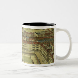 Soho or King's Square, for 'Stow's Survey of Londo Two-Tone Coffee Mug