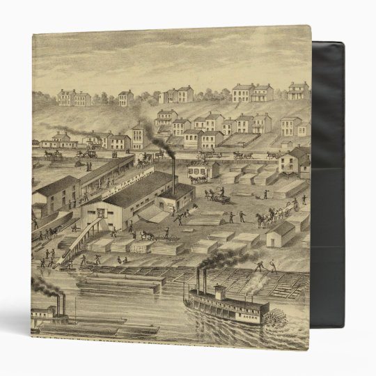 Soho Saw and Planing Mills and Barge Yards 3 Ring Binder