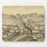 Soho Saw and Planing Mills and Barge Yards Mousepad