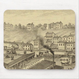 Soho Saw and Planing Mills and Barge Yards Mouse Pad