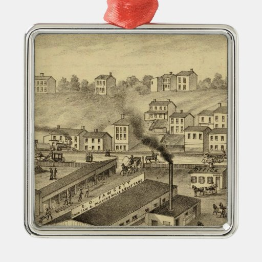 Soho Saw and Planing Mills and Barge Yards Ornaments