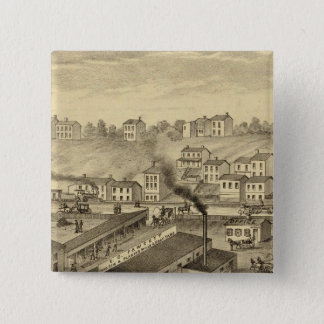 Soho Saw and Planing Mills and Barge Yards Pinback Button