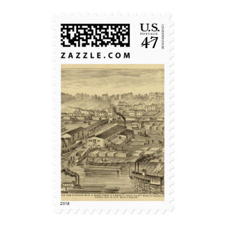 Soho Saw and Planing Mills and Barge Yards Postage