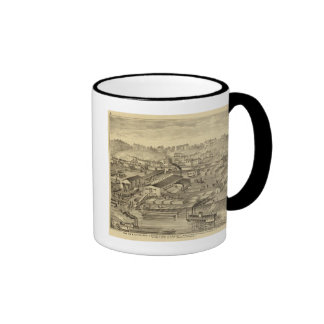 Soho Saw and Planing Mills and Barge Yards Ringer Coffee Mug