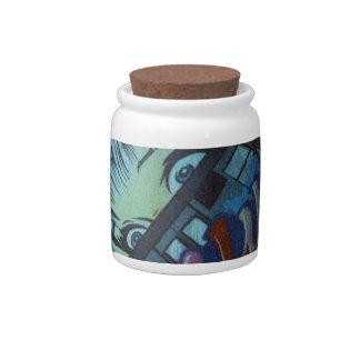 SOHO Street Art - Film Candy Jar