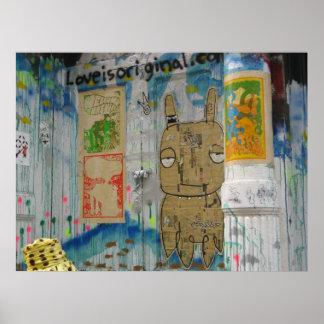 Soho Street Art Print