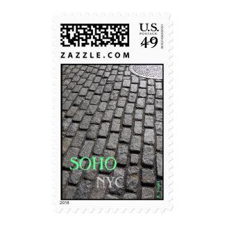 SOHO Streets - New York City Stamps