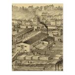 Soho vio y los molinos y las yardas de cepillado postal