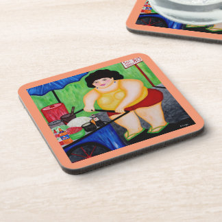 """""""Soi 80 Lady"""" Coasters For Favorite Beverages"""