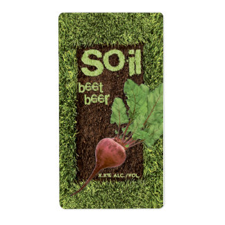 Soil Beet Beer Label