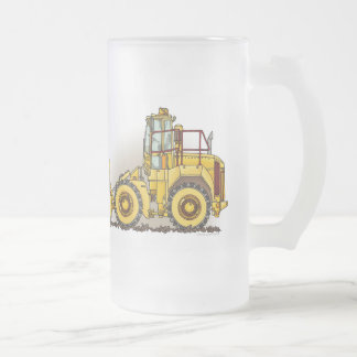 Soil Compactor Glass Mug