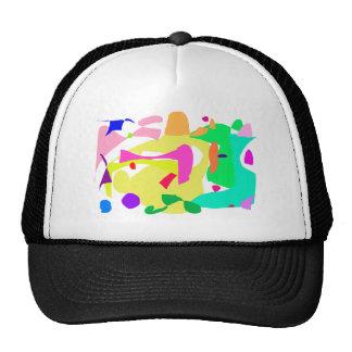 Soil Rock Bird's-Eye View Desert Cactus Trucker Hat