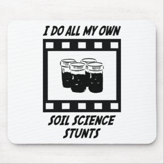 Soil Science Stunts Mouse Pad