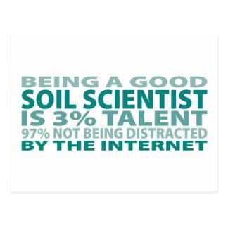 Soil Scientist 3% Talent Postcard