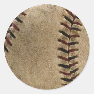 Soiled Baseball Sticker