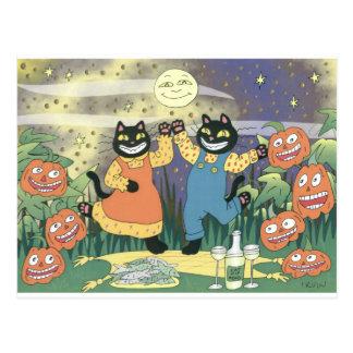 Soiree de Halloween Postales